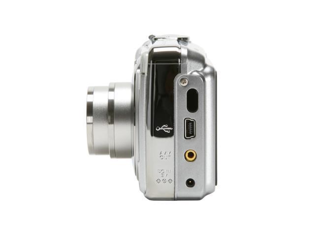 FUJIFILM FinePix A800 Silver 8.3 MP 3X Optical Zoom Digital Camera