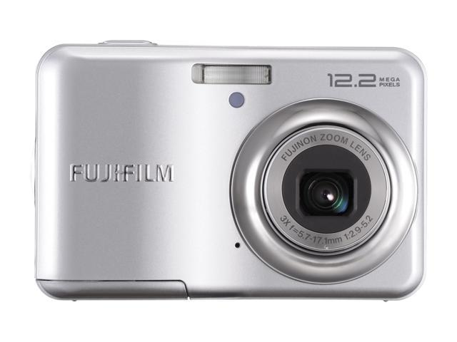 FUJIFILM A235 Silver 12.2 MP 3X Optical Zoom Digital Camera