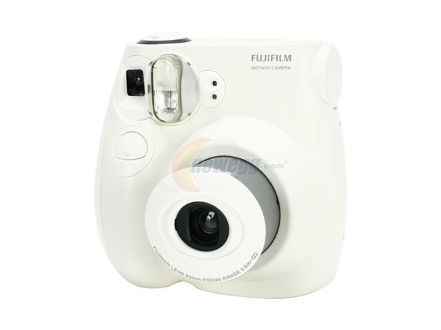 FUJIFILM Instax mini 7s White Instant Color Film Camera