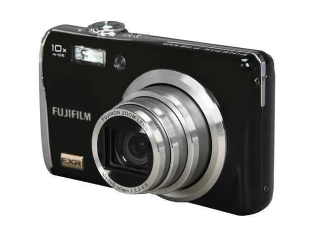 FUJIFILM F72EXR Black 10.0 MP 27mm Wide Angle Digital Camera
