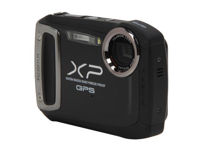 FUJIFILM XP150 Black 14.4 MP Waterproof Shockproof Wide Angle Digital Camera