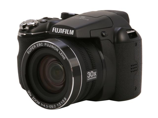 FUJIFILM S4500 Black 14.0 MP 30X Optical Zoom Wide Angle Digital Camera