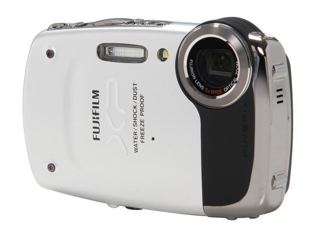 FUJIFILM FinePix XP20 Silver 14.2 MP 5X Optical Zoom Waterproof Shockproof Digital Camera