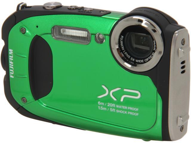 Fujifilm FinePix XP60 16.4 Megapixel Compact Camera - Green