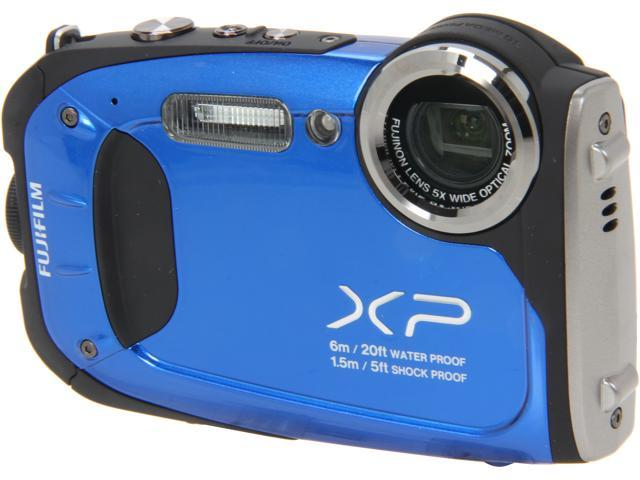 Fujifilm FinePix XP60 16.4 Megapixel Compact Camera - Blue