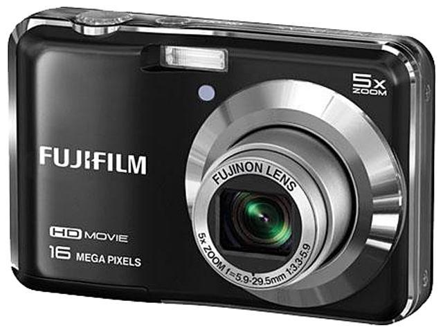 FUJIFILM FinePix AX650 Black 16 MP 5X Optical Zoom Digital Camera