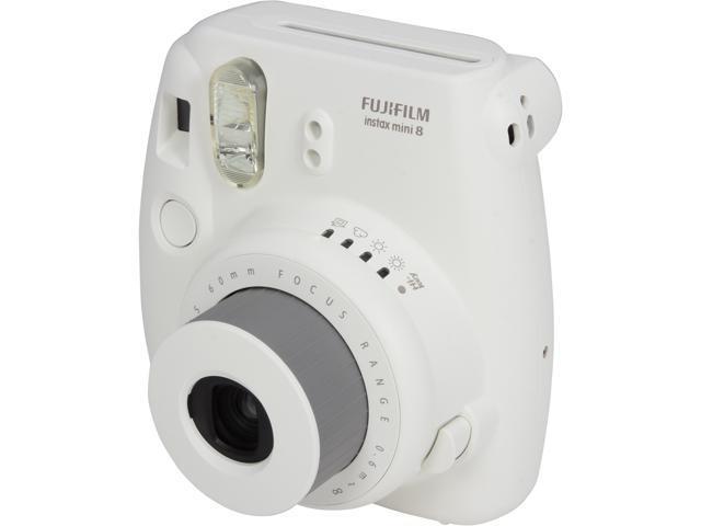 FUJIFILM Instax Mini 8 16273398 Instant Film Camera - White