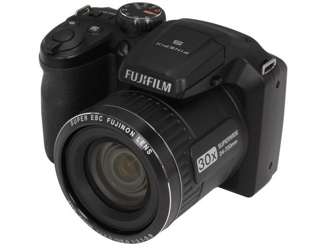 Refurbished FUJIFILM FinePix S4800 Black 16 MP 30X