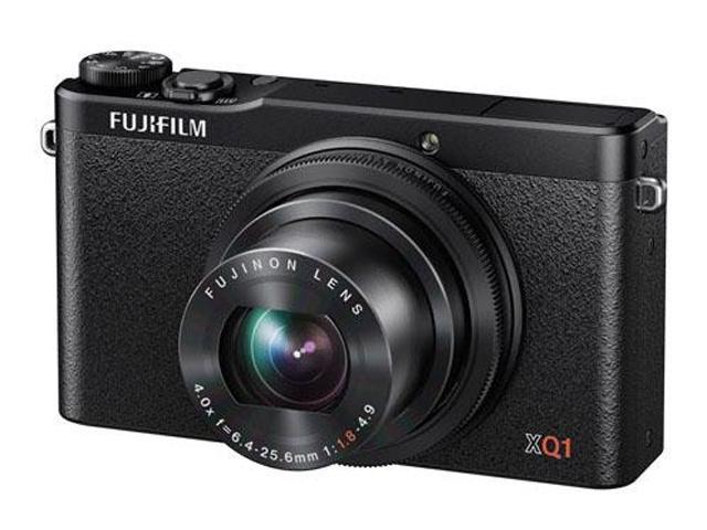 FUJIFILM XQ1 Black 12 MP 4X Optical Zoom 25mm Wide Angle Digital Camera HDTV Output