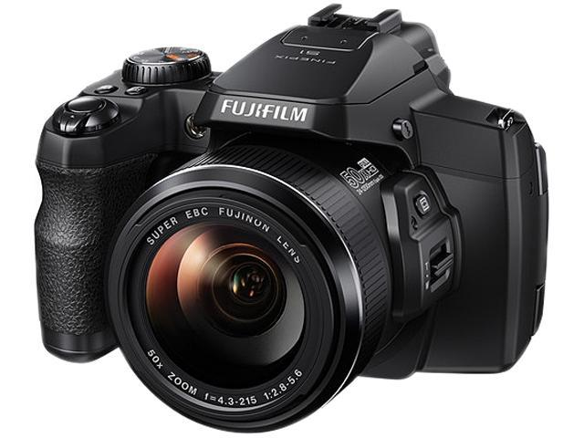 FUJIFILM FinePix S1 Black 16.4 MP 50X Optical Zoom Waterproof Digital Camera