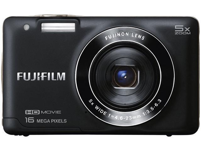 FUJIFILM FinePix JX660 Black 16 MP 26mm Wide Angle Digital Camera