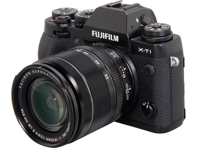 FUJIFILM X-T1 16421555 Black 16.3 MP 3.0