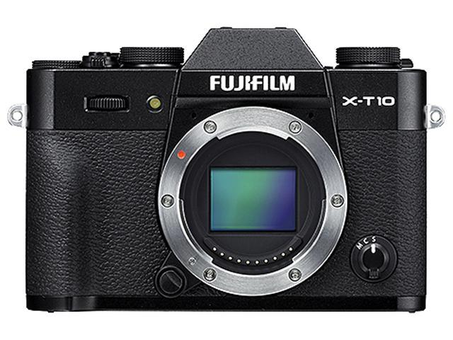 FUJIFILM X-T10 600015601 Black 16.3 MP 3.0