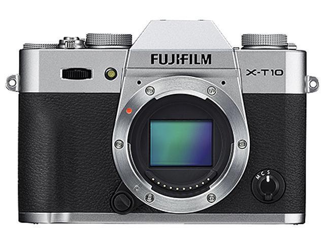 FUJIFILM X-T10 600015602 Silver 16.3 MP 3.0