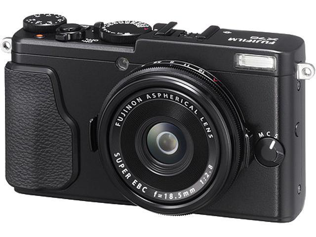 FUJIFILM X70 Silver 16.3 MP Digital Camera