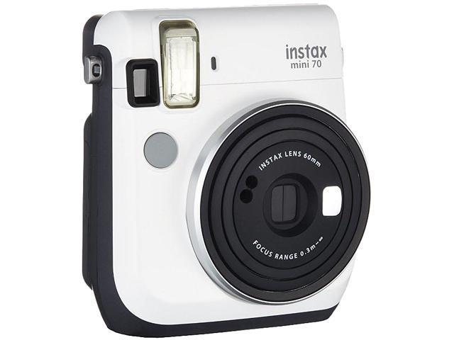 FUJIFILM Instax Mini 70 Camera, Moon White