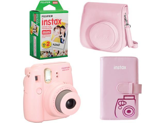 FUJIFILM Instax mini 8 815906024421 Pink Instax Camera Bundle