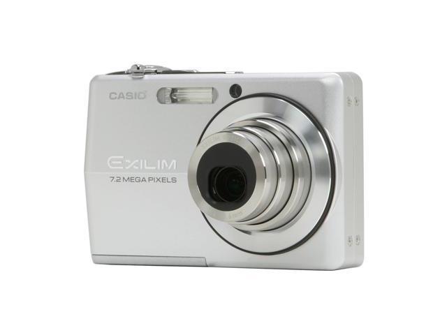 CASIO EX-Z700SR Silver 7.2 MP 3X Optical Zoom Digital Camera