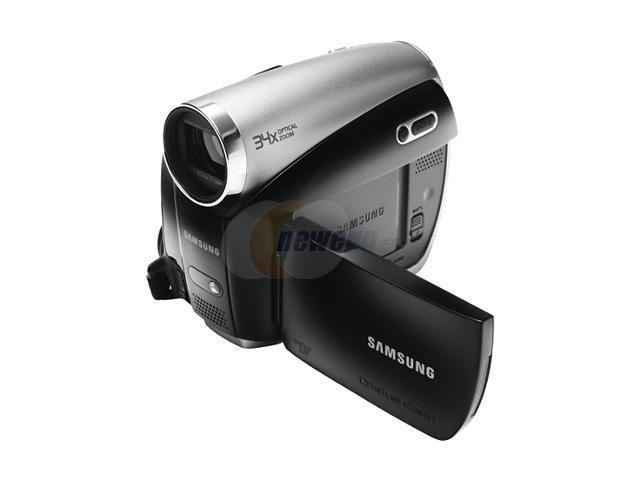 Samsung SC-D382 MiniDV Camcorder - YouTube