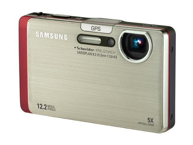 SAMSUNG CL65 Silver 12.2 MP 5X Optical Zoom Digital Camera