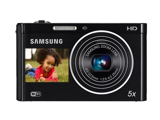 SAMSUNG DV300F Black 16.1 MP 25mm Wide Angle Wireless-enabled Digital Camera