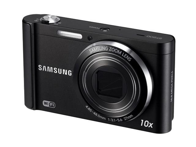 SAMSUNG ST200F Silver 16.1 MP 10X Optical Zoom 27mm Wide Angle Wireless-enabled Smart Digital Camera