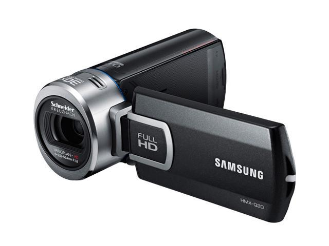 SAMSUNG Q20 (HMX-Q20BN/XAA) Black Full HD Camcorder