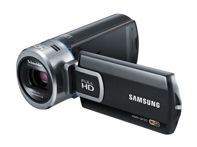 SAMSUNG HMX-QF20BN/XAA Black Full HD Camcorder