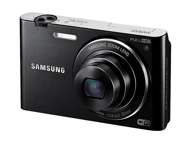 SAMSUNG MV900F EC-MV900FBPBUS Black 16.31MP 25mm Wide Angle Digital Camera HDTV Output