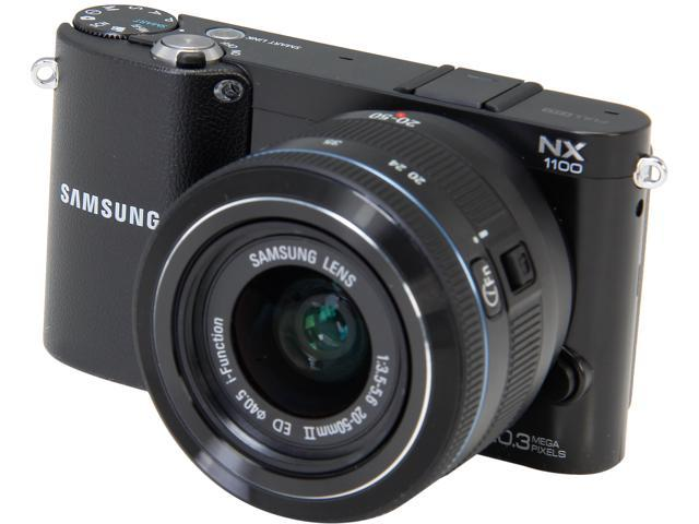 SAMSUNG NX1100 Black 20.3 MP 3.0