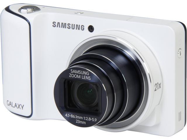 SAMSUNG GC100 (ATT) White 21X Optical Zoom Galaxy Camera AT&T 4G Connected