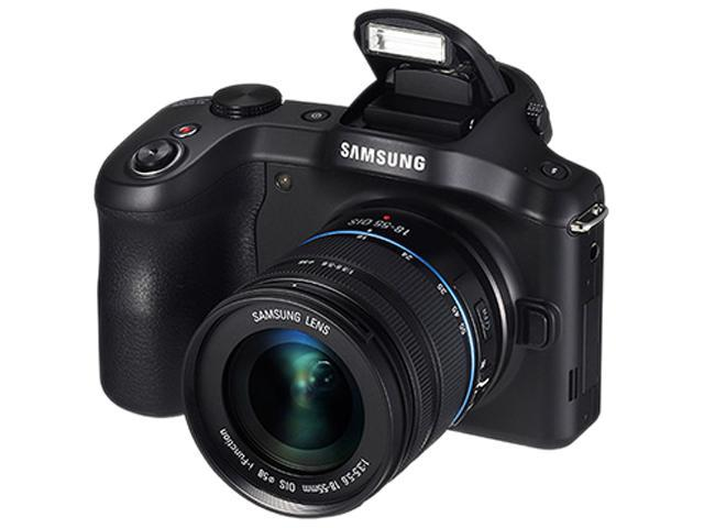 SAMSUNG Galaxy NX GN120 EK-GN120ZKAXAR Black 20.3 MP 4.77
