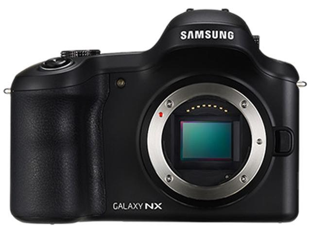SAMSUNG Galaxy NX GN120 EK-GN120ZKZXAR Black 20.3 MP 4.77