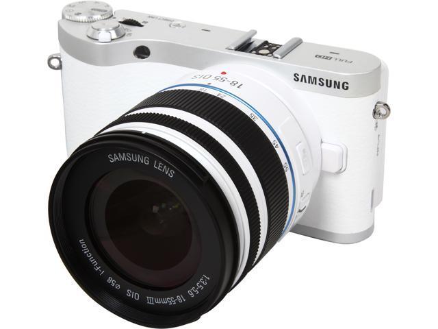 SAMSUNG NX300m EV-NX300MBQUUS White 20.3MP 3.31