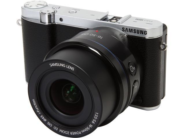 SAMSUNG NX3000 EV-NX3000BOIUS Black 20.3MP 3.0