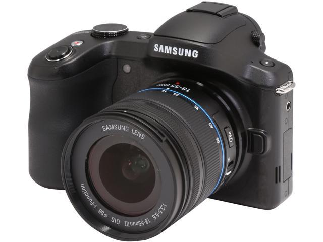 SAMSUNG Galaxy NX GN120 EK-GN120ZKAXAR Black 20.3 MP 4.77