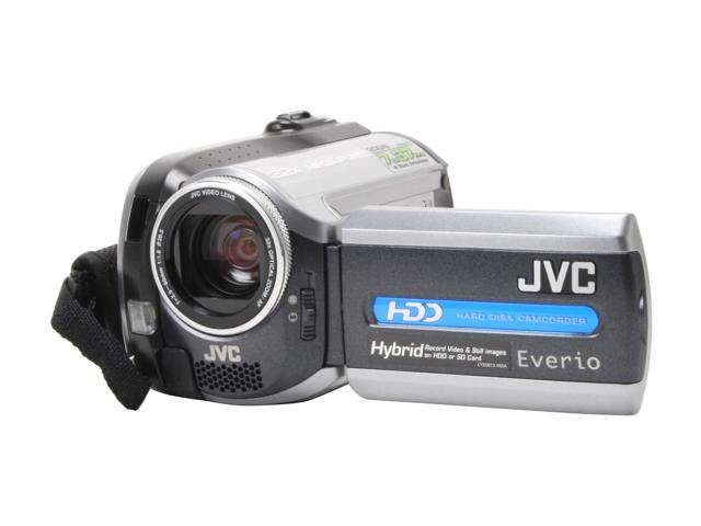 JVC GZ-MG155 Black&Silver 1.07MP 32X Optical Zoom 30GB Hard Disk Drive Digital Camcorder