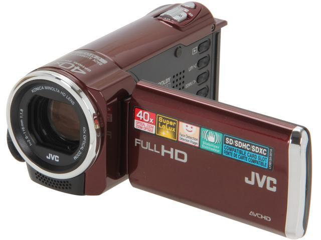 JVC GZ-E10 Red 1/5.8