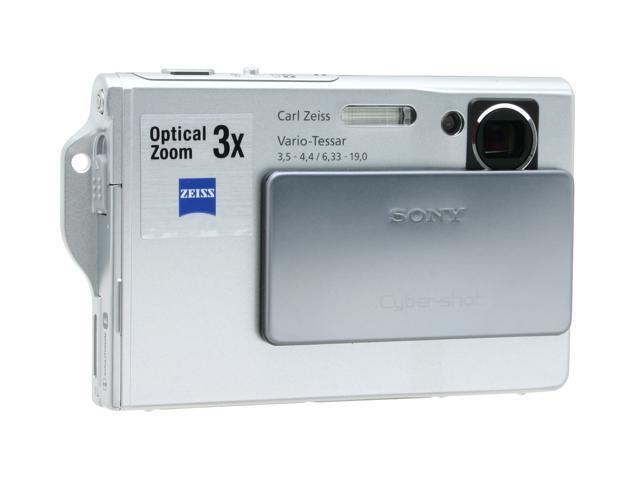 "SONY DSC-T7 Silver 5.1 MP 2.5"" 230K LCD 3X Optical Zoom Digital Camera"