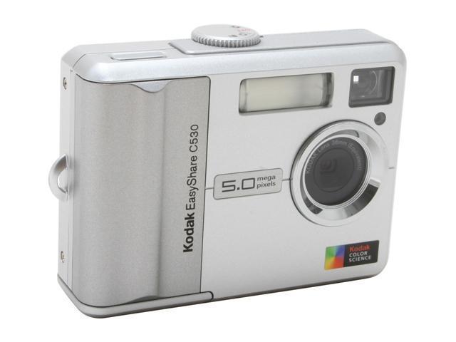 Kodak EASYSHARE C530 Silver 5.0 MP Digital Camera