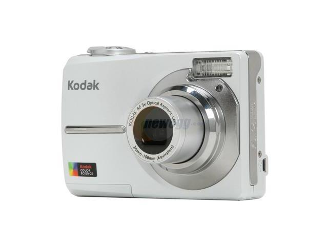 Kodak EasyShare C613 Pearl White 6.16 MP 3X Optical Zoom Digital Camera