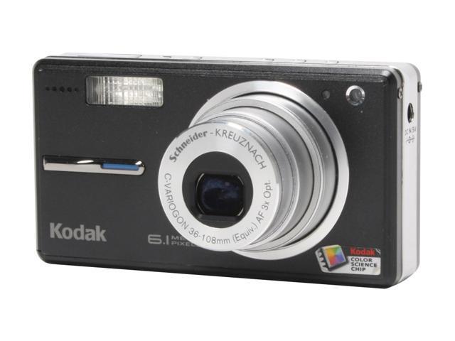 Kodak EasyShare V603 Black 6.1 MP 3X Optical Zoom Digital Camera