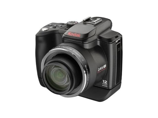 Kodak EasyShare Z980 Black 12 MP 24X Optical Zoom 26mm Wide Angle Digital Camera