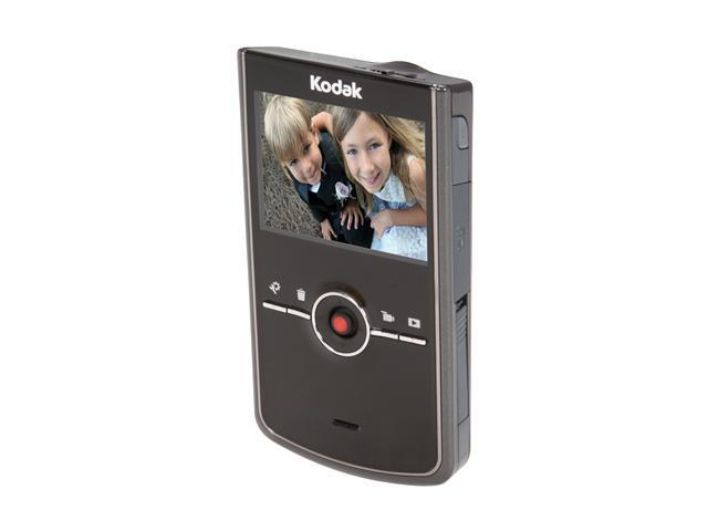 "Kodak Zi8 Black 2.5"" LCD HD Pocket Video Camera"