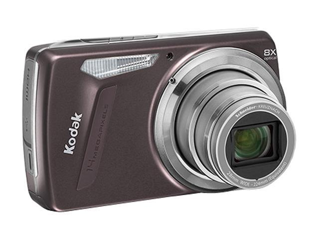 Kodak EasyShare M580 Purple 14 MP 8X Optical Zoom 28mm Wide Angle Digital Camera