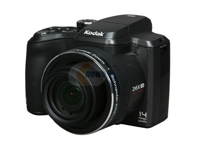 Kodak EasyShare Z981 Black 14 MP 26X Optical Zoom 26mm Wide Angle Digital Camera