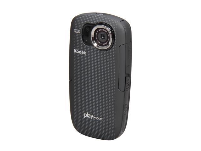 Kodak ZX5 Playsport HD Waterproof Pocket Video Camera. Black