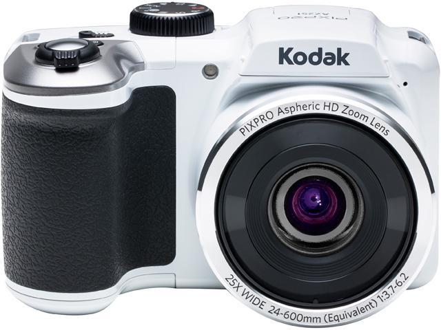 Kodak AZ251-WH White 16.15 Megapixels 25X Optical Zoom Wide Angle Astro Zoom Digital Camera