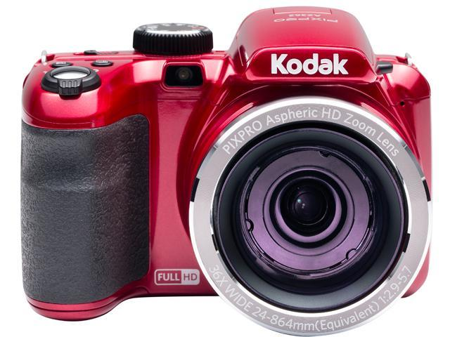 Kodak AZ362-RD Red 16.38 Megapixels Wide Angle Astro Zoom Digital Camera