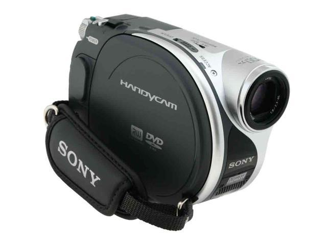 "SONY DCR-DVD105 1/6"" CCD 2.5"" 123K LCD 20X Optical Zoom DVD Camcorder"